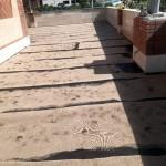 قیرگونی پشت بام